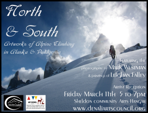North & South tag poster march 2016