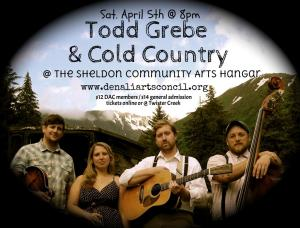 April - Cold Country Concert