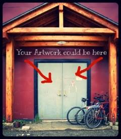 your art could be here
