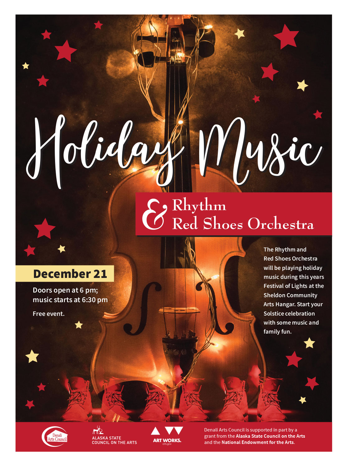 holiday music concert