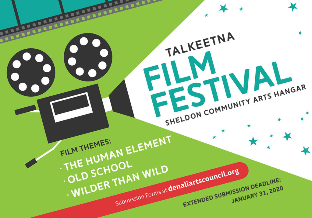 Talkeetna 2020 Film Festival, short films, art films